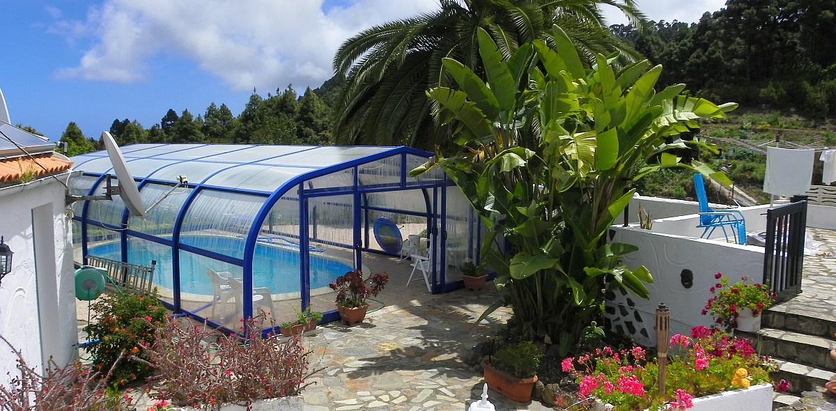 Sanierte Hallenbadfinca Nähe La Guancha In La Florida Bei Icod De Los Vinos  Zu Vermieten