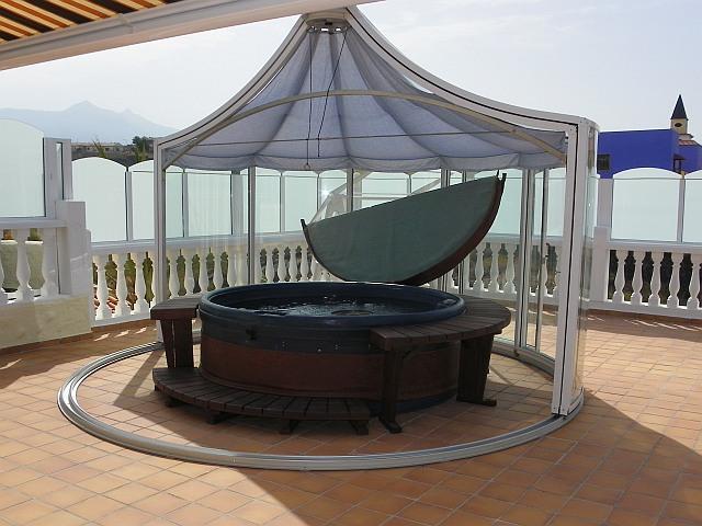 Luxusbungalow teneriffa playa paraiso privat zu verkaufen - Whirlpool pavillon ...