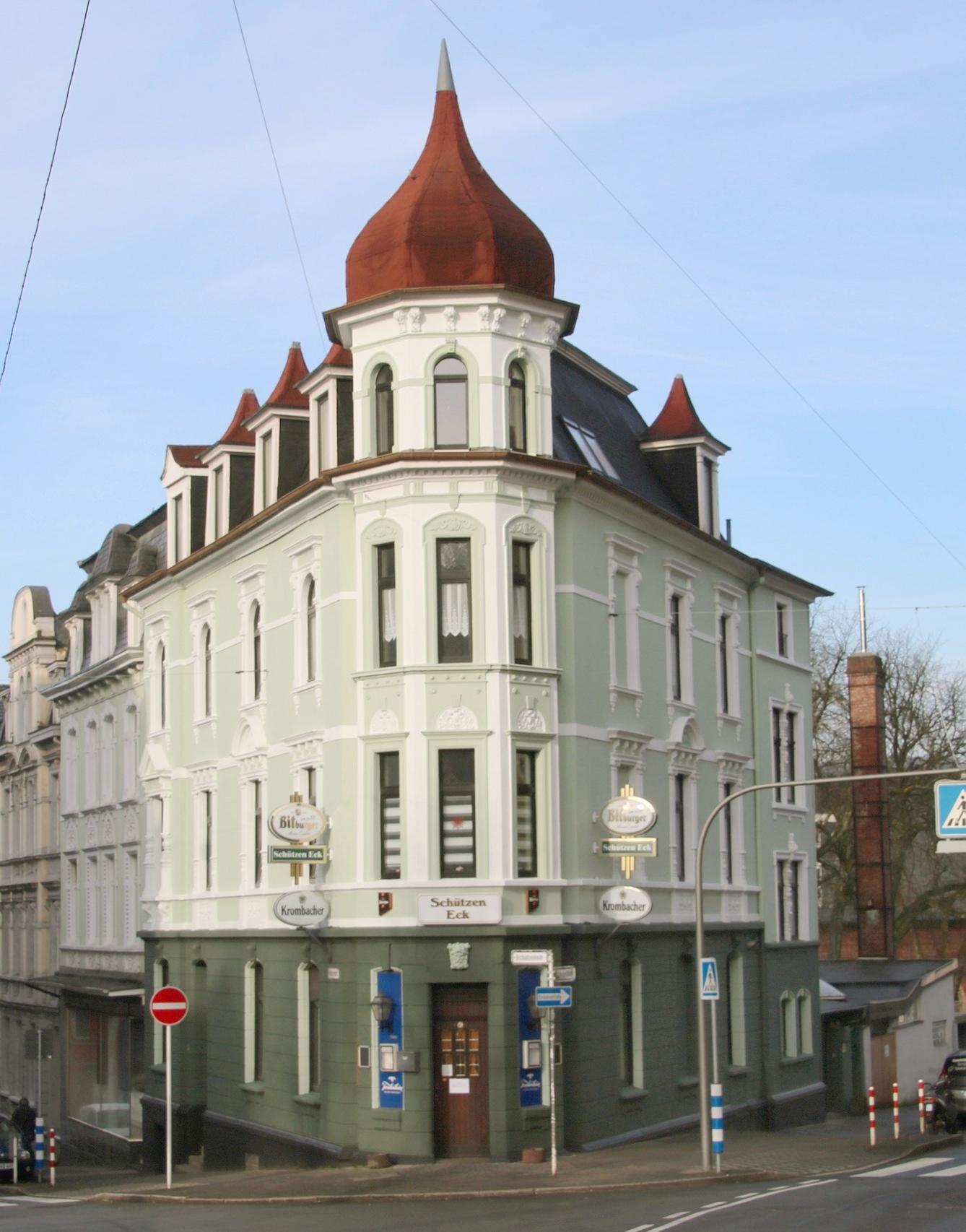 Mehrfamilienhaus Wuppertal Mit Gaststätte Geschäftshaus Wuppertal